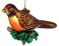 Robin Christmas Ornament - 1095132 - $9.99