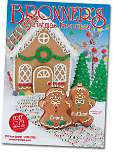 Bronner's Christmas Favorites 2008-2009 Catalog