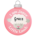 I am Jesus' Little Lamb - Pink - 1148682 - $8.99